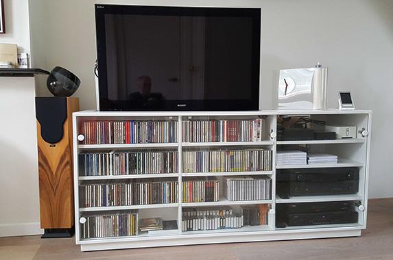 Tv En Audio Kast.Audio Tv Media Kast Op Maat