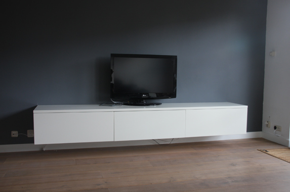 Tv Meubel 9010.Audio Tv Media Kast Op Maat