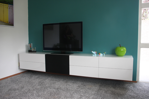 Tv Meubel 300 Cm.Audio Tv Media Kast Op Maat